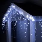 "Гирлянда ""Бахрома"" уличная, УМС, 3 х 0.6 м, 3W LED(SMD-SB)-160-220V, свечение белое"