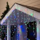 """Гирлянда """"Бахрома"""" уличная, УМС, 3 х 0.9 м, 3W LED(IP65-O)-232-220V, свечение мульти"""