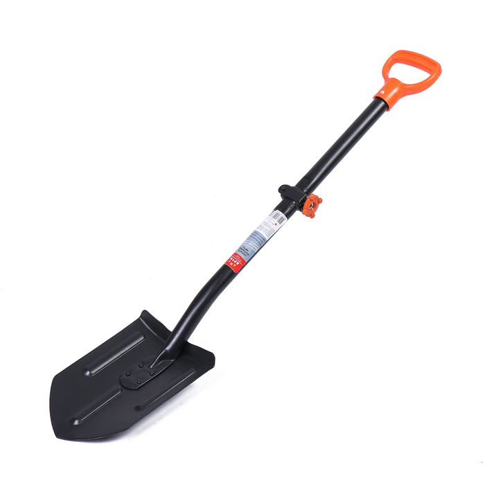 Лопата автомобильная «Копанец-Авто», складной черенок, с ручкой