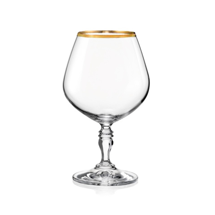 Набор бокалов для бренди «Виктория», 380 мл, 6 шт