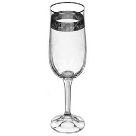 Набор бокалов для шампанского «Диана», 180 мл, 6 шт