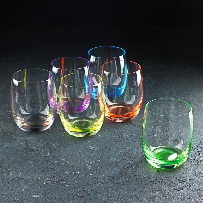 Набор стаканов для виски «Клаб», 300 мл, 6 шт