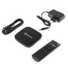 Приставка Смарт ТВ D-COLOR A201, Android, 4K, DVB-T2, Wi-Fi, HDMI-кабель, черная
