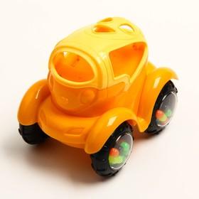 Погремушка «Машинка № 1», с эластичными деталями