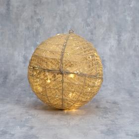 """Фигура текстиль """"Шарик"""" 40 см, 40 LED, 220V"""