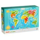 Пазл «Карта мира» - фото 1036525