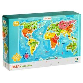 Пазл «Карта мира»