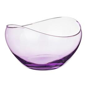 Ваза 17,5 см «Гондола», фиолетовая