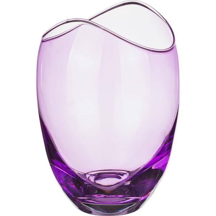 Ваза 18 см «Гондола», фиолетовая