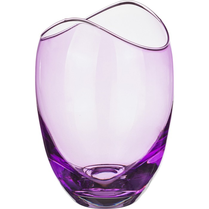 Ваза 25,5 см «Гондола», фиолетовая