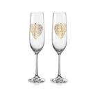 Набор бокалов для шампанского «Виола», 190 мл, 2 шт