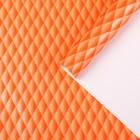 """Бумага для декорирования """"Наппа"""", оранжевый, 0, 7 х 2 м"""