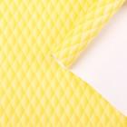 """Бумага для декорирования """"Наппа"""", жёлтый, 0,7 х 2 м"""