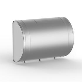 """Бак для теплообменника 80 л, горизонтальный, нержавейка 0.8 мм (штуцер 3/4"""")"""