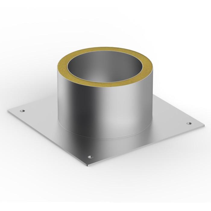 Декоративный ППУ,  d 80 мм, тёплый, нерж/оцинк, круглый