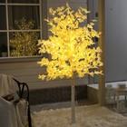 """Дерево светодиодное """"Клён белый"""", 1,8 м, 350 LED, 220 В, ТЁПЛЫЙ БЕЛЫЙ"""