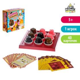 Настольная игра-головоломка с карточками «Сладкая головоломка»