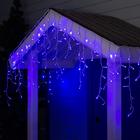 """Гирлянда """"Бахрома"""" уличная, УМС, 3 х 0.6 м, 3W LED(IP65-O)-160-220V, свечение синее"""