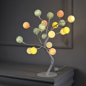 """Светодиодный куст """"Цветные шарики"""", 20 LED, 220 В,  МУЛЬТИ"""