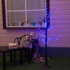 """Дерево светодиодное улич. 1,2 м. """"Ромашки"""", 160 LED, 220 В, СИНИЙ"""