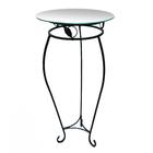 Стол 351-82 (стекло) d 41 см