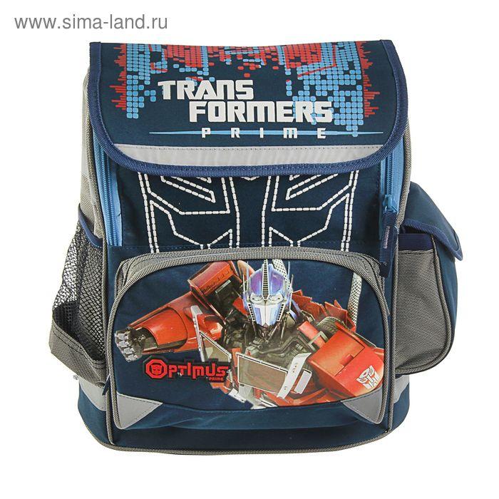 Ранец Стандарт Transformers 38*29*13 с EVA-спинкой, для мальчика