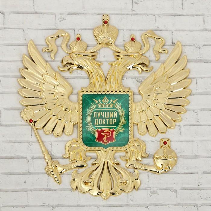 """Герб настенный """"Лучший доктор"""""""