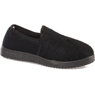 Shoes cloth 183-01 black men (41 (262 mm))