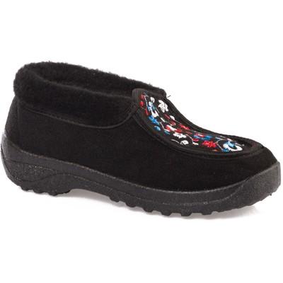 Туфли суконные 682-02 женские с вышивкой (36 (232 мм))