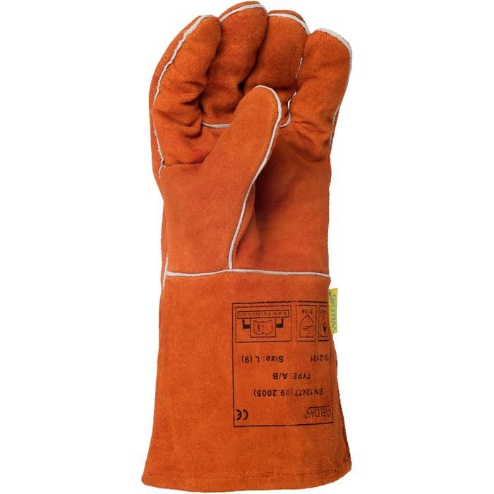 Перчатки-краги Weldas сварочные арт.10-2101 (10 (RU), 9.5 (EU))