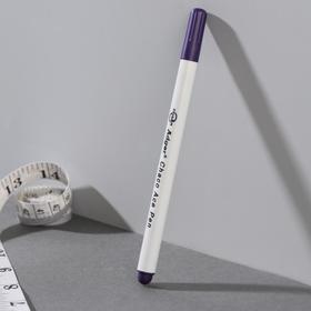 Маркер для ткани, самоисчезающий, 15см, цвет фиолетовый