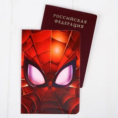 Обложка для паспорта, Человек-паук