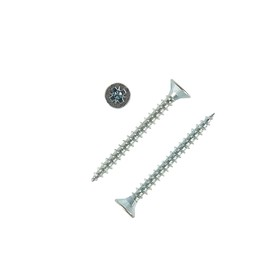 Саморезы универсальные TECH-KREP, ШУц, 3.5х35 мм, цинк, потай, 10000 шт.