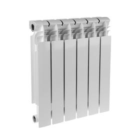 Радиатор биметаллический REMSAN EXPERT РБС, 500 × 100, 6 секций Ош