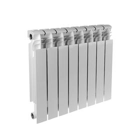 Радиатор биметаллический REMSAN EXPERT РБС, 500 × 100, 8 секций Ош