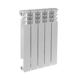Радиатор биметаллический REMSAN MASTER BM, 500 × 80, 5 секций Ош