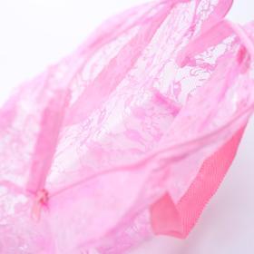 Косметичка ПВХ, отдел на молнии, 2 ручки, цвет розовый - фото 1769908