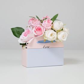 Colors foldable carton for Love, 17 × 13 × 7 cm