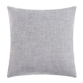 Наволочка декоративная Этель 'Классика', цв.серый, 43*43 см, 100% п/э Ош