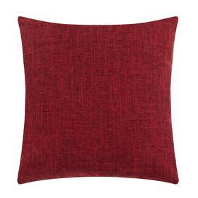 """Чехол на подушку Этель """"Классика"""", цв.красный, 43*43 см, 100% п/э"""