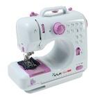 Швейная машина VLK Napoli 1400, 12 видов строчки, питание от батареек АА или адаптер 6 В,