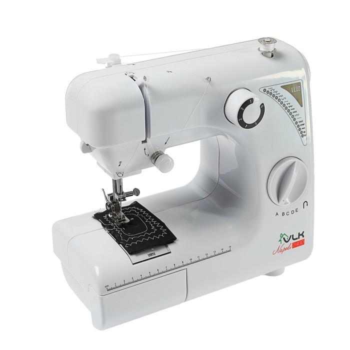Швейная машина VLK Napoli 2400, 19 операций, электромеханическая, белая