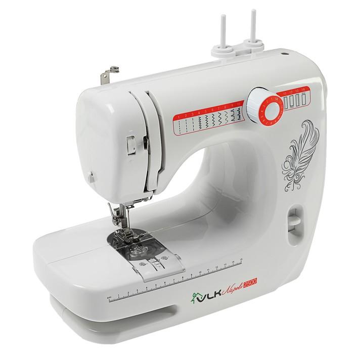 Швейная машина VLK Napoli 2500, 14 операций, электромеханическая, белая