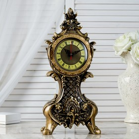 "Table clock ""Rococo"", h=38 cm"