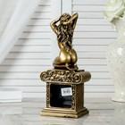 "Часы настольные ""Эрато"", цвет золото, 26х11.5х7.5 см - фото 923350"