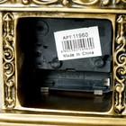 "Часы настольные ""Эрато"", цвет золото, 26х11.5х7.5 см - фото 923351"