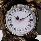 """Часы настольные """"Конь"""", цвет золото, 55х48х22 см, микс - фото 923365"""