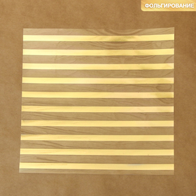 """Acetate sheet with embossed """"Stripes"""", 20 × 20 cm"""