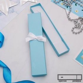 """Box gift bracelet/chain/watch """"Tiffany"""" 21*4, color turquoise"""
