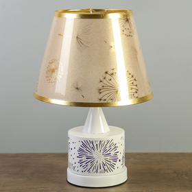 "Лампа настольная Е27 25W ""Феерверк"" низ подсветка 27х27х39,5 см"